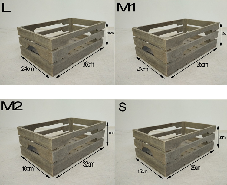 Cheap wooden fruit crates for sale buy cheap wooden for Buy wooden fruit crates