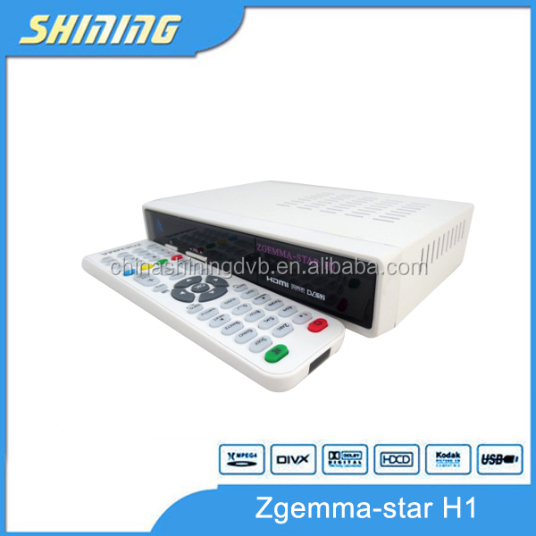 1080P Full <strong>HD</strong> Media Player Zgemma Star h1 digital <strong>satellite</strong> receiver enigma2 linux OS Smart <strong>TV</strong>