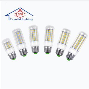 LED lamp E27 E14 220V 30/36/48/56/69 LEDs Corn Bulb Chandelier Candle Spot light Replace CFL 7W 12W 15W 20W 25W