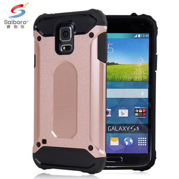 Colorful hybrid tpu&pc Heat dissipation inner tpu phone case for Samsung galaxy S5