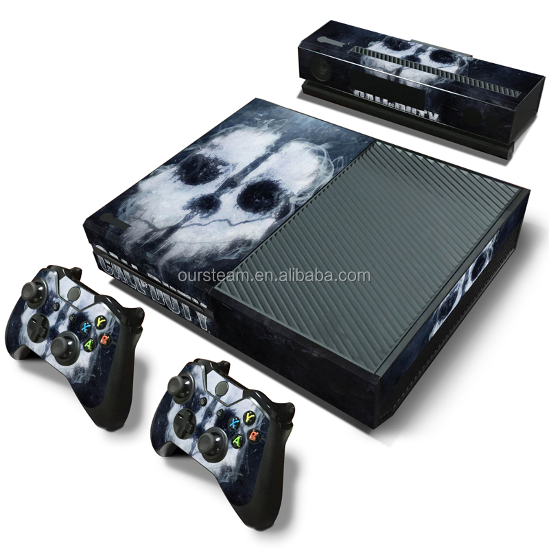 Low price vinyl decal sticker for XBOX ONE console and controller skin sticker
