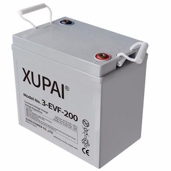 3 evf 200 Batterie Au Plomb Scellée Type Acide 6v 200ah Pour