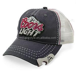 bcdfb16e9b0 Wholesale custom embroidered bottle opener baseball cap/hat