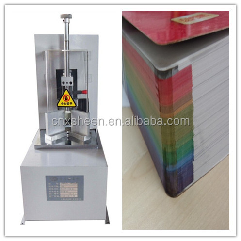 notebooks round corner paper cutting machine