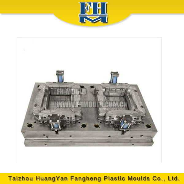 OEM plastic crate mould design and plasitc turnover box injection molding