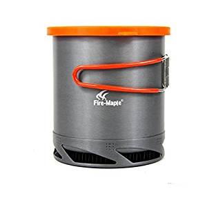 Fire Maple Outdoor Heat Exchanger Pot Camping Pot Outdoor Kettle 1L FMC-XK6