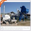 40T/H mobile russian asphalt mixing plant with asphalt tank burner