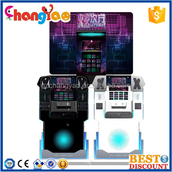 Coin Operated Dancing Game Machine Music Karaoke For Game Center