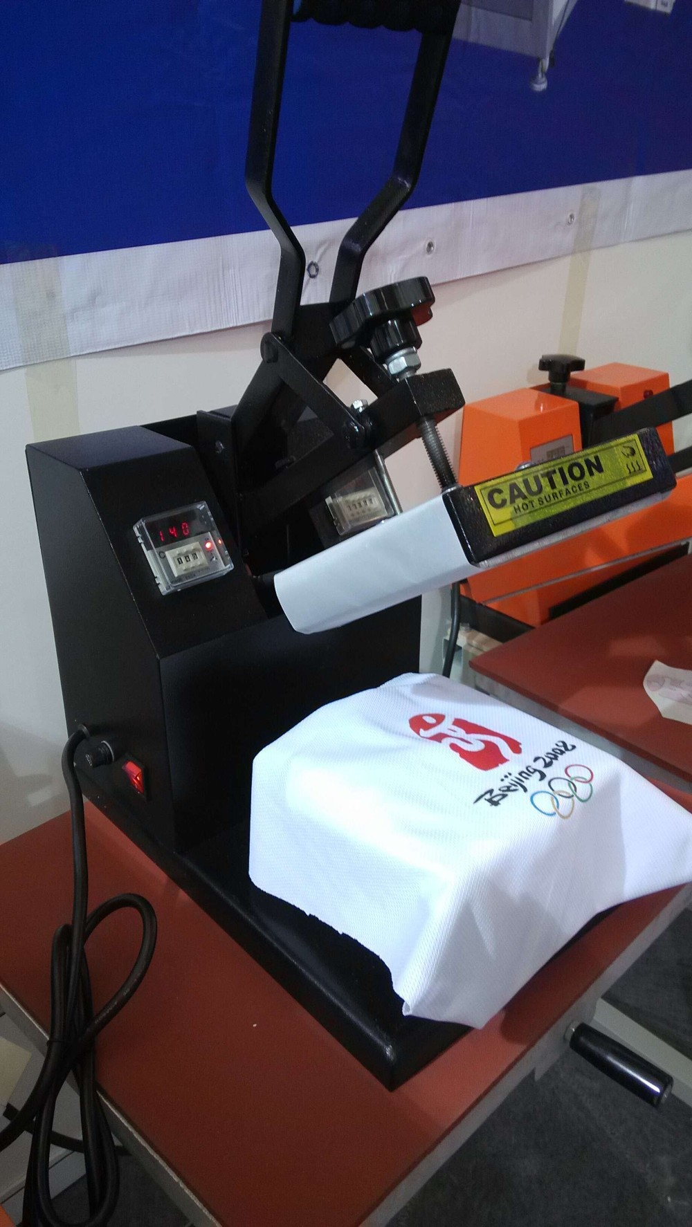 Factory Direct Manual Hot Stamping T Shirt Press Machine
