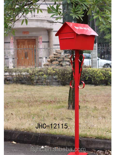 Unique mailbox for sale jhc 12115 decorative outdoor for Unique mailboxes to buy