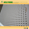 round hole mgo perforated acoustic panel