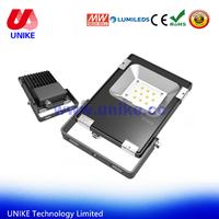 competitive price mini 10w IP65 backyard lighting flat PROJECTEUR LED 12 volt