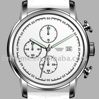 chronograph Italian leather swiss movement watches