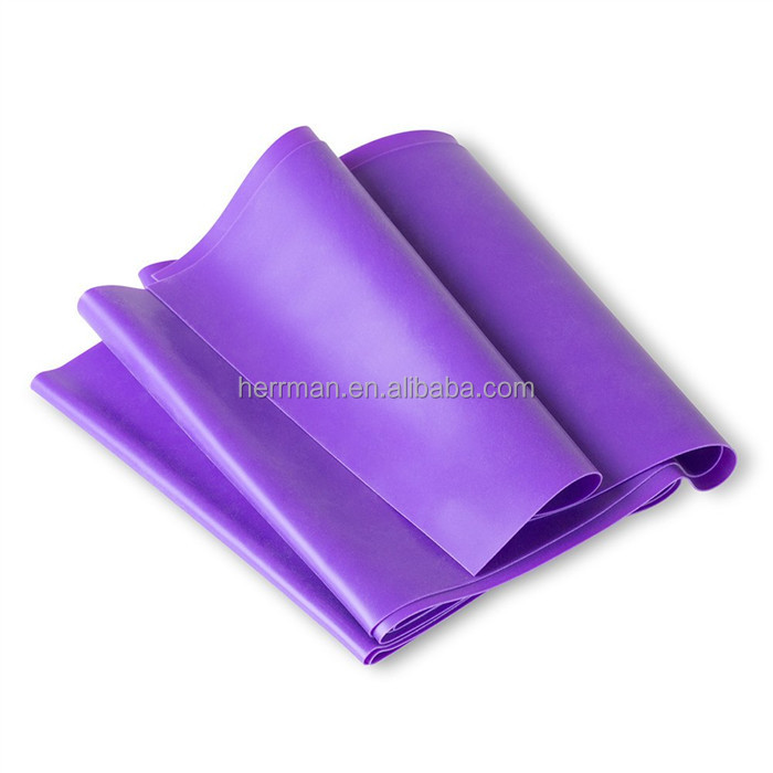 (HERRMAN)yoga elastic band/ latex elastic yoga band/yoga mat band