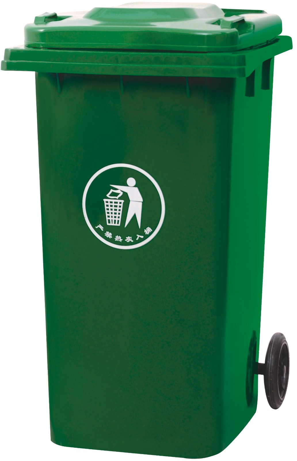 Groene kleur zorgt voor meer afval