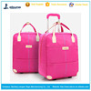 Durable two wheels vantage luggage travel trolley cat bag