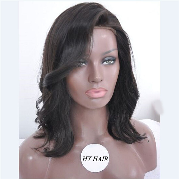 Free Shipping Synthetic Japan Silk Wig Full Lace Human Hand Tied Synthetic Wig