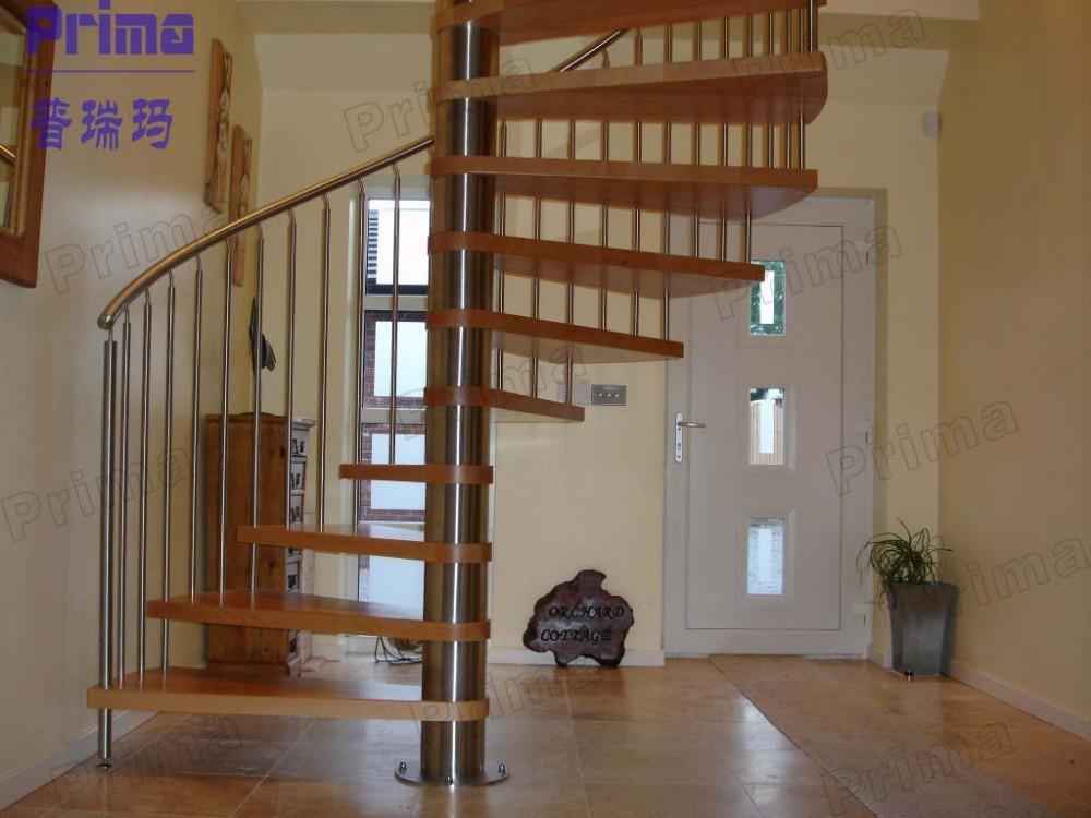 Fiber de carbone petit espace escaliers prix de bois - Escalier en colimacon prix ...
