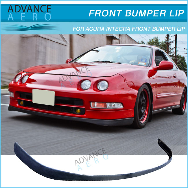 For 94 95 96 97 acura integra pu front bumper lip spoiler sir style for 94 95 96 97 acura integra pu front bumper lip spoiler sir style poly urethane publicscrutiny Choice Image