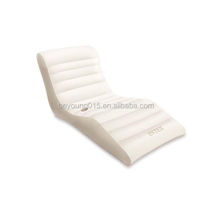 Intex Floating Recliner Lounge Comfort Inflatable Float