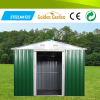 environment friendly sliding door the steel low cost prefab house