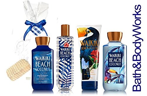 Buy Bath Body Works Waikiki Beach Coconut 3 Oz Body Lotion