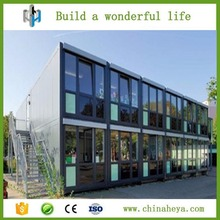 Economic and beautiful prefab container hotel for sale