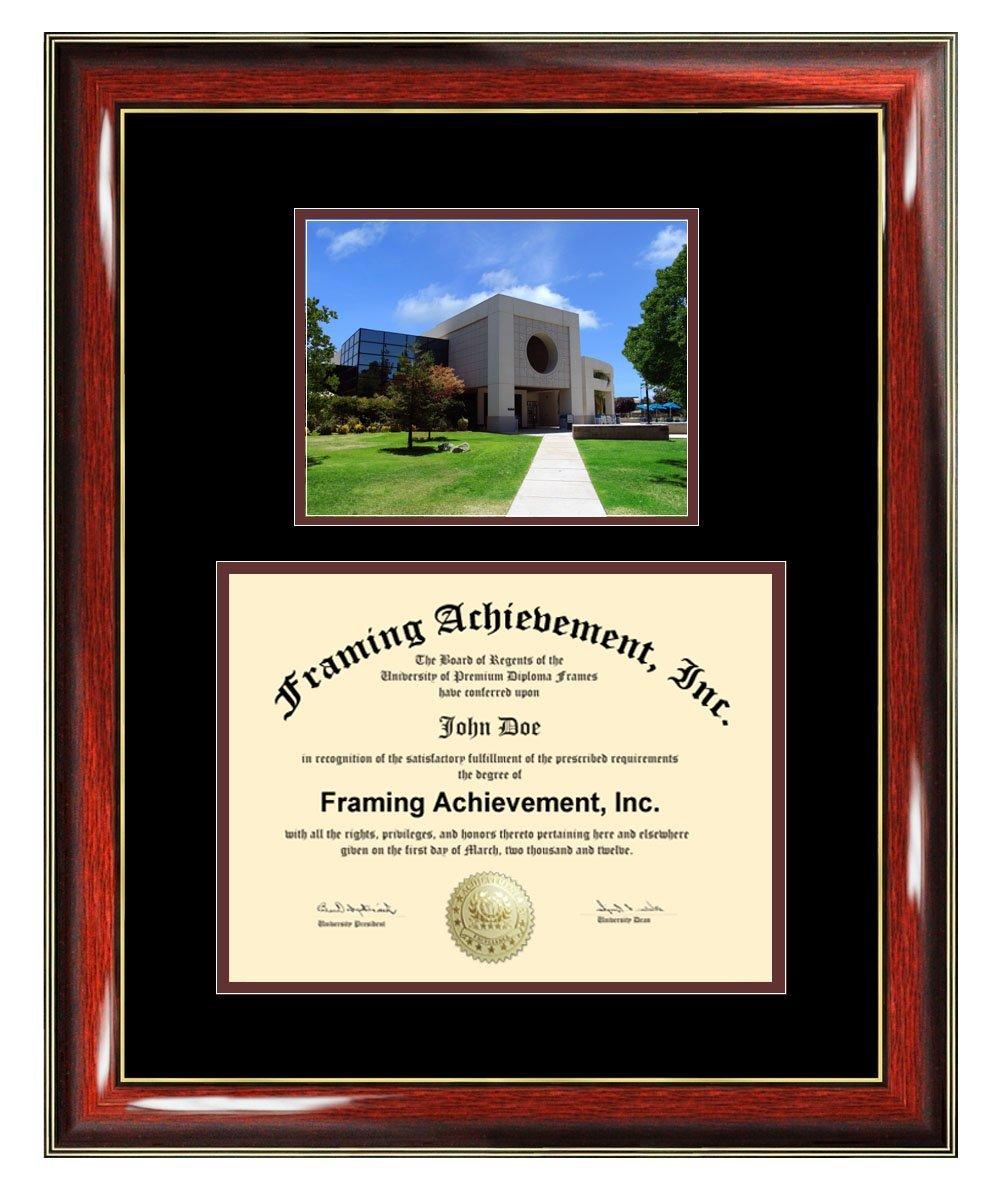 California State University Bakersfield Diploma Frame - CSUB Graduation Degree Frame - Matted College Photo Graduation Certificate Plaque Bakersfield State University Framing Graduate Gift Collegiate