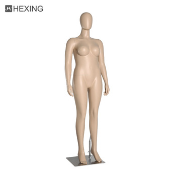 Well Design Egg Head Trendy Fat Female Mannequin