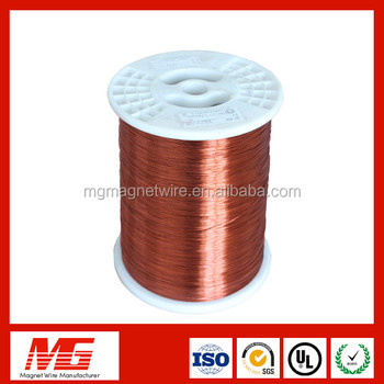 Polyimide Insulated Enameled Copper Wire Swg 0 1mm Copper