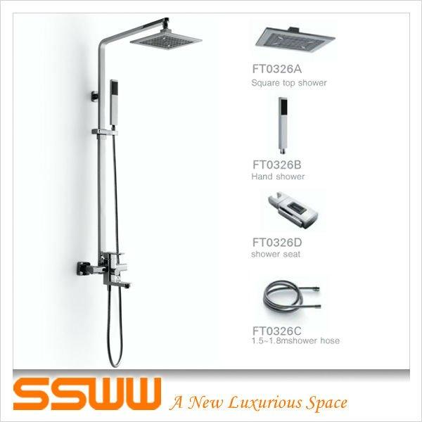 Ft0326 Bathroom Accessories(shower Mixer) - Buy Bathroom ...