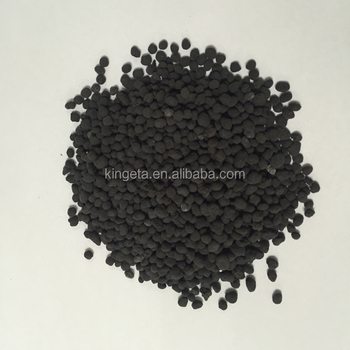 Humic Acid Compound Fertilizer Black Granulator with 20% Biochar for water melon fertilizer