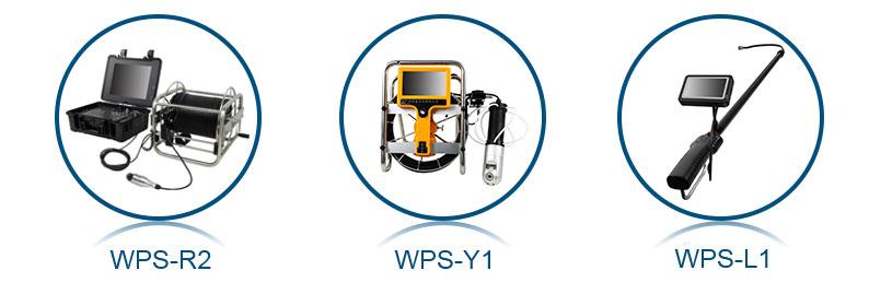 Hot sale DVR CCTV digital video PTZ zoom full HD industrial waterproof sewer drain pipe inspection camera