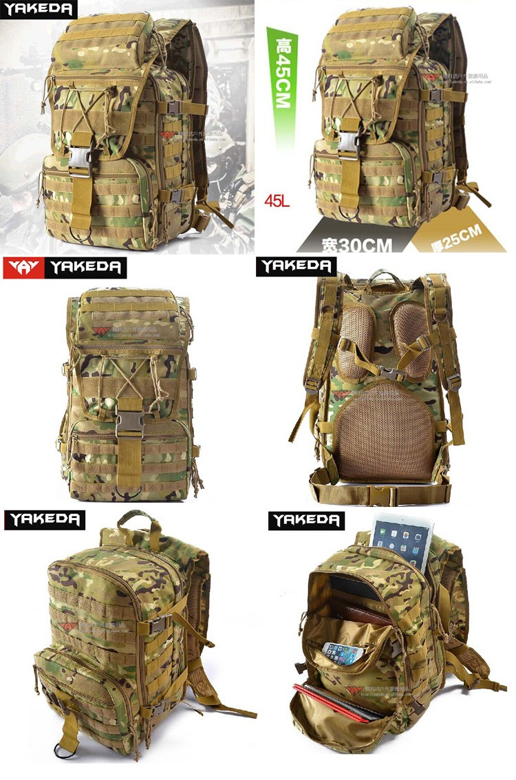 New Style Camo Military Laptop Pack Best Outdoor Tactical ...