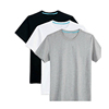 Plain Cotton Spandex T-Shirt, O-Neck Slim Fit Blank T Shirts Made in China , Fitted Blank Cotton Spandex T-Shirt