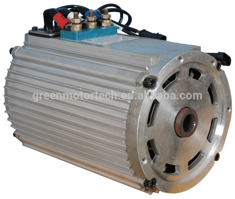 Electric car kit ac brushless motor and controller buy for Ac dc electric motors