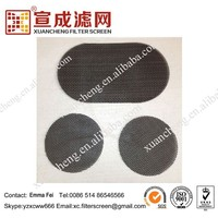 PE Pellets Using Black Wire Cloth Plain Weave