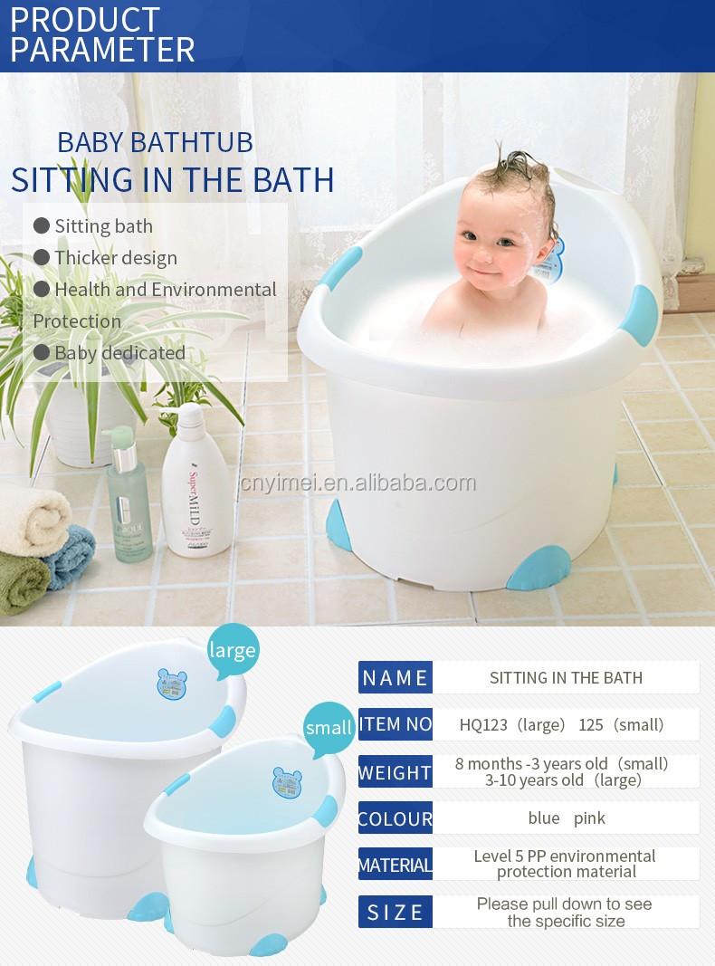 High Quality Small Plastic Baby Bath Bucket - Buy Small Plastic Baby ...