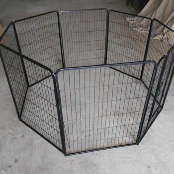 dog playpen with floor