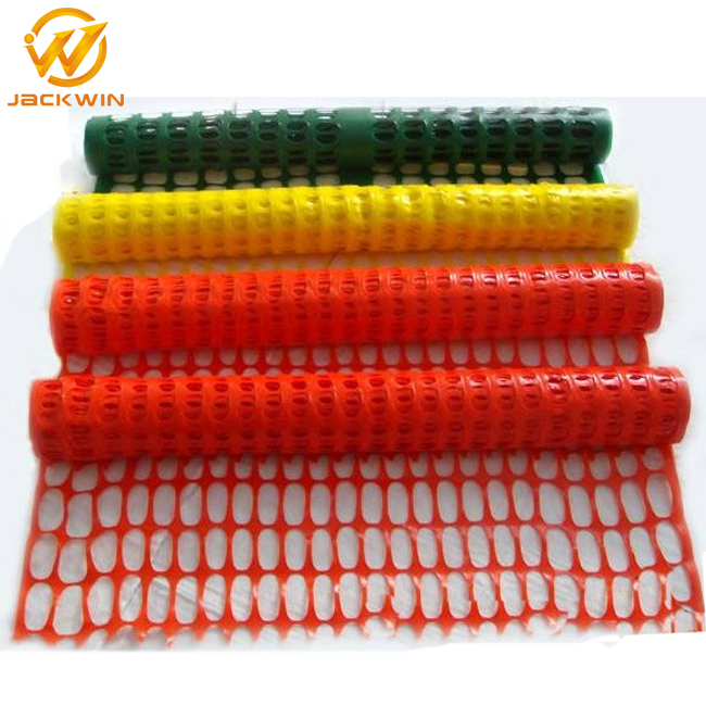 Temporary High Quality Wire Mesh Orange Plastic Safety Fence