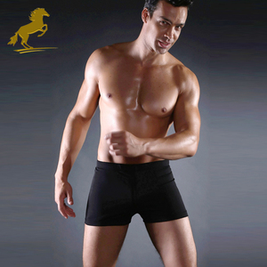 Waterproof Seaside Swim Trunks Mens Swimwear Boys Swimming Brief
