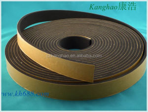 Self adhensive cellular epdm rubber foam sheet