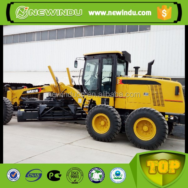 powerful XCM GR215 small motor grader rear ripper and dozer price