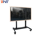 BNT electric lifting type with wired switch control way floor mobile tv bracket