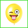 manufactory yellow latex emoji balloon