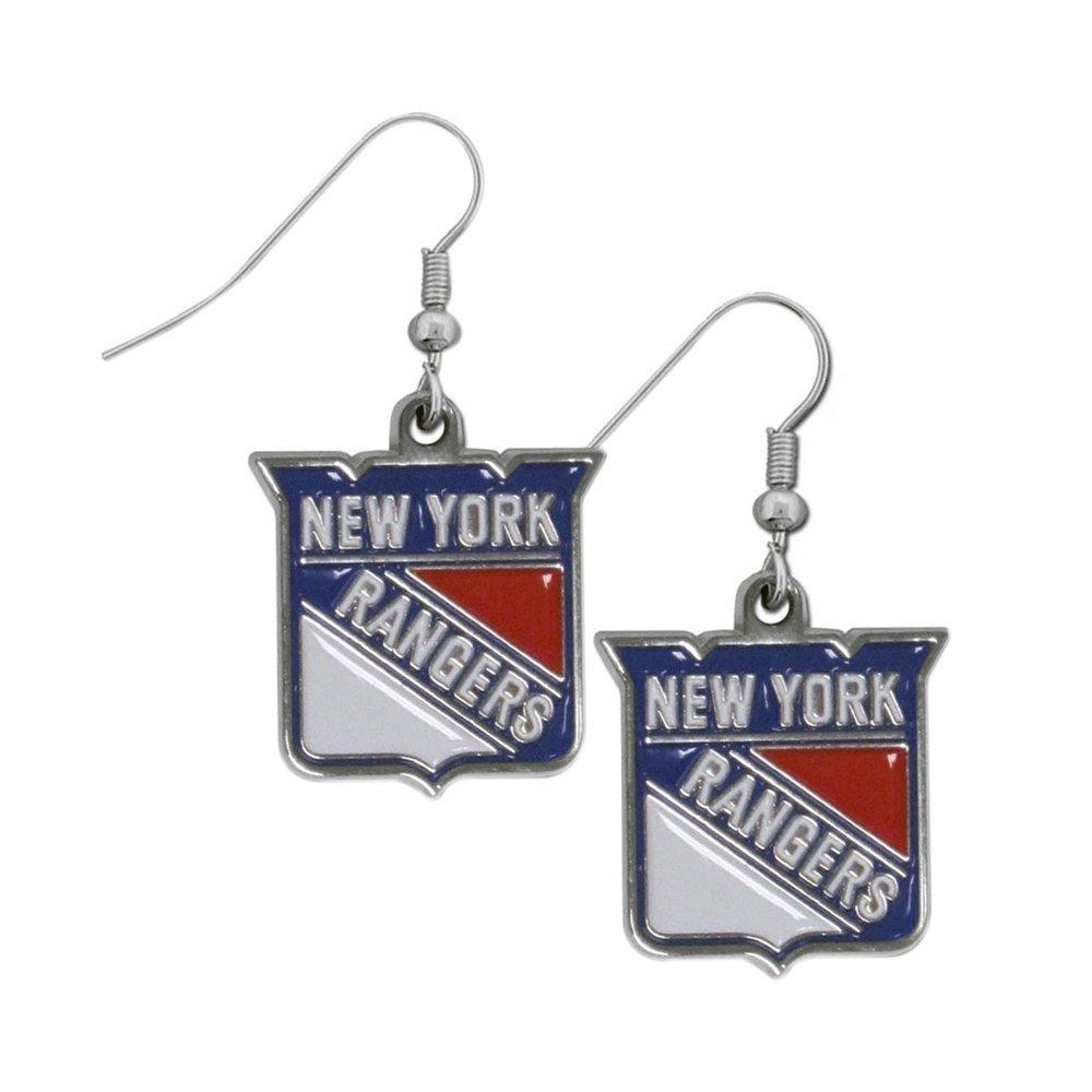 NHL New York Rangers Dangle Earrings by Siskiyou Sports