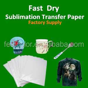 Roll Sublimation Transfer Paper For Cotton