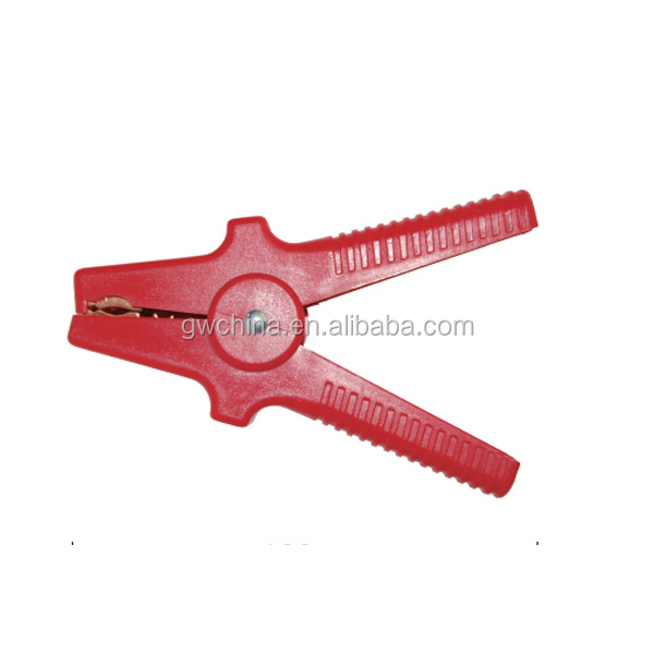 P1A Booster cable plastic clamp in emergency tools with cu jaw