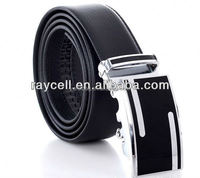 fashion men business 2 layers embossed genuine cow leather belt