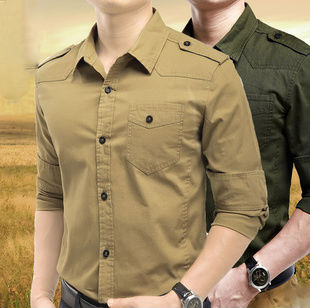 100% Cotton New Model Slim Fit Long Sleeve Fashion Custom Single Pocket washing Men's <strong>Shirts</strong>